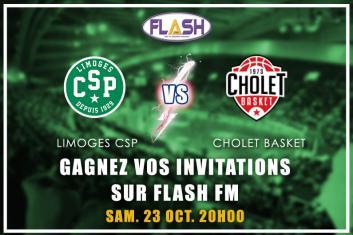 Gagnez vos places pour CSP / Cholet