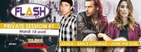 Concert privé Flash FM «Private Session #1»