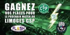 Gagnez vos places pour CSP / Boulazac