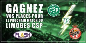 Gagnez vos places pour le match CSP / MONACO