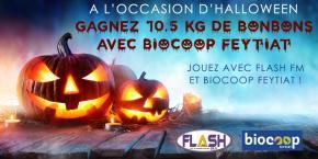 Jeu Halloween Biocoop Feytiat : Les gagnants