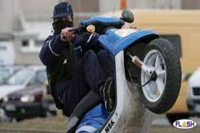 Saint-Junien : Un motard intercepté sous stupéfiants et alcool en plein rodéo