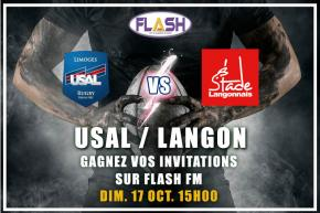 Rugby : Gagnez vos places pour USAL / Langon