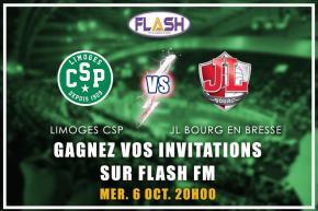 Gagnez vos places pour CSP / Bourg En Bresse