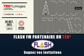 Flash FM partenaire du TEDx Limoges - Gagnez vos invitations