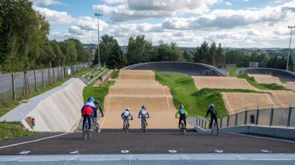 Limoges : Une nouvelle piste de BMX au complexe sportif La Basse