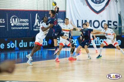 Handball : Pas de quart de finale pour Limoges, battu par Aix-en-Provence (34-36)